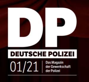 Logo der Zeitschrift Deutsche Polizei